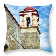Santo Domingo Church Spire Throw Pillow