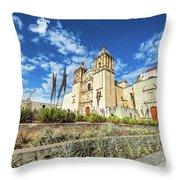 Santo Domingo Church Wide Angle Throw Pillow