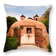 Santo Nino De Atocha Chimayo New Mexico Throw Pillow