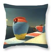 Santorini Color Throw Pillow