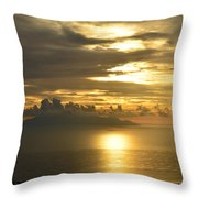Santorini. Sunlight Throw Pillow