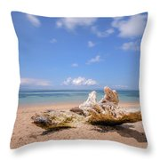 Sanur Beach - Bali Throw Pillow