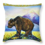 Sapient Throw Pillow