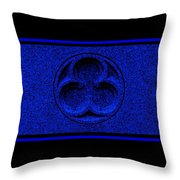 Sapphire Infinity Throw Pillow