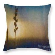 Sapphire Twilight Throw Pillow