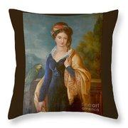 Sar La Principessa Marianna  Throw Pillow