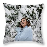 Sara Wondering Throw Pillow