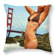 Sarah 064 Throw Pillow