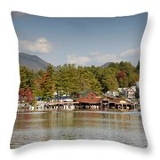 Saranac Lake Throw Pillow
