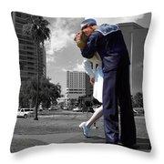 Sarasota Kiss Throw Pillow