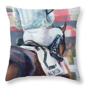 Saratoga Stripes Throw Pillow