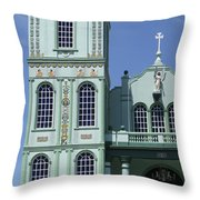 Sarchi Church 3 Throw Pillow
