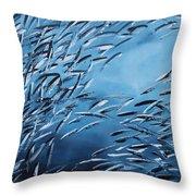 Sardine Gang Throw Pillow