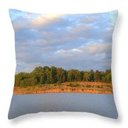 Sardis Lake Throw Pillow