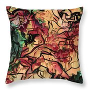 Sargam Abstract A1 Throw Pillow