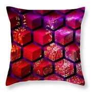 Sari Cubed Throw Pillow