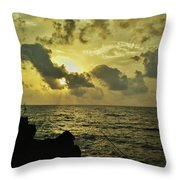 Sarjekot Sunset Point Throw Pillow