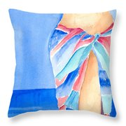 Sarong Throw Pillow