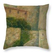 Sartene Corsica Throw Pillow