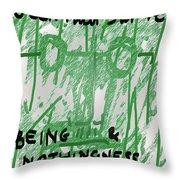 Sartre Poster Jp  Throw Pillow