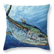 Sashimi Throw Pillow