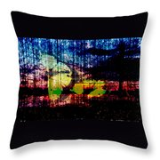 Saskatchewan 2 Throw Pillow