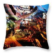 Saskatchewan 5 Throw Pillow