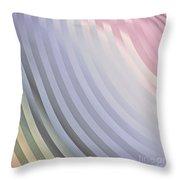 Satin Movements Lavender Throw Pillow