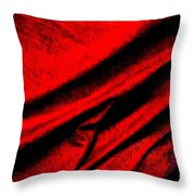 Satin Sheets Throw Pillow