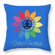 Sattva Institute Throw Pillow