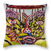 Saturday Afternoon Delight  Throw Pillow