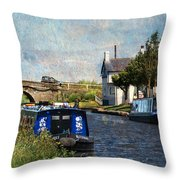 Saturday At The Saracens Head Throw Pillow