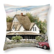 Saturday Evening 1964 Throw Pillow