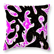Saturday Night Throw Pillow by Eikoni Images