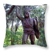 Saturiwa Throw Pillow