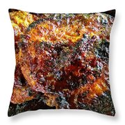 Saucey Thighs Throw Pillow
