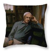 Saul Bellow Throw Pillow