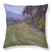 Sauvie Green Throw Pillow