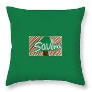 Savana Throw Pillow