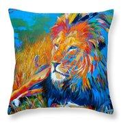 Savanna King Throw Pillow