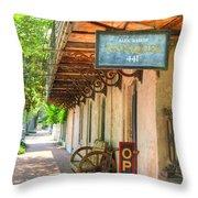 Savannah Antique Shop Throw Pillow