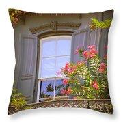 Savannah Balconies II Throw Pillow