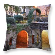 Savannah Lights Throw Pillow