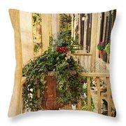 Savannah Porch Throw Pillow