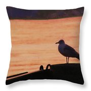 Savannah River Throw Pillow