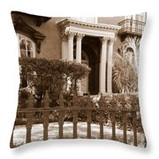 Savannah Sepia - Mercer House Throw Pillow