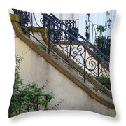 Savannah Stairs Throw Pillow