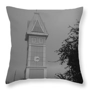 Save The Clock Tower Throw Pillow