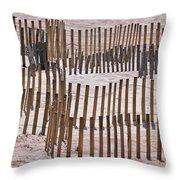 Save The Dunes Throw Pillow