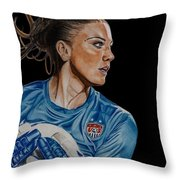 Saved By Hope Throw Pillow